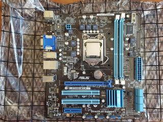 Asus P7H55-M LX + I5-750( 4-ре ядра) 2.66-3.20Ghz socket 1156