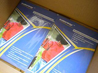 Фотобумага для струйной печати ColorWay / Barva - A3, A4, A5, 4R