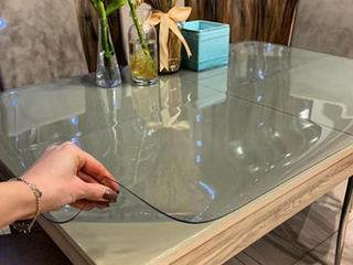 Soft glass este o acoperire de film pentru birou. protejare perfectă a mobilierului dumneavoastră!
