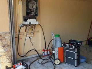 Промывка, химическая .газовых котлов