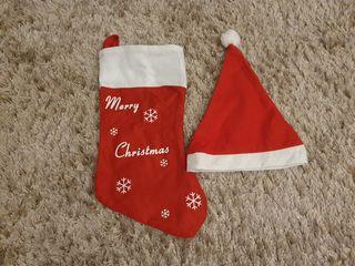 Căciulă & Ciorap pentru cadouri de Crăciun