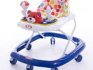 Новые детские музыкальные ходунки (4 цвета) RT5711B, купить в Кишиневе с доставкой по Молдове