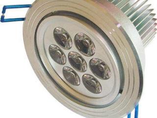 LED точечные светильники из алюминия