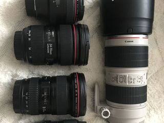 Canon EF 70-200 2.8L IS II USM.
