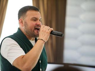 Moderator/solist pentru petrecerea Ta.Limba rusă,rom,italiană.Ведущий и певец.Язык русский,рум,итал.