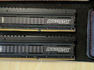 DDR4 -Ballistix Crucial Elite 16GB (2x8GB) 2666MHz PC4-21300 CL16