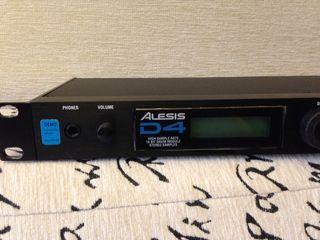 Alesis D4 - барабанный триггерный миди модуль.