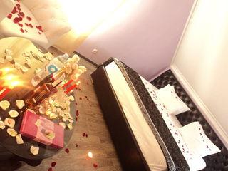 Свечи и клубника в шоколаде-прекрасный вечер 599 lei,почасова 150 lei