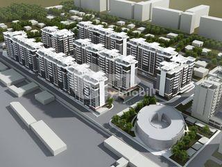 Apartament 3 camere, Versiune Albă, Exfactor, Buiucani 54500 €