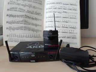 Sistem Wireless AKG pt 40 flexx pro - schimba frecventa