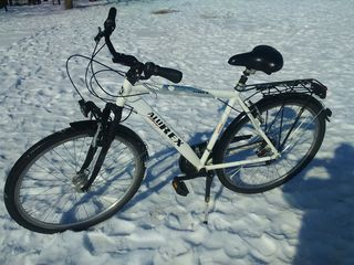 Vind bicicleta alu-rex, completatie shimano, german design