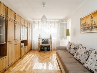 Buiucani - 2 camere, reparat/mobilat, încălzire autonomă, Parcul Alunelul 43000 €