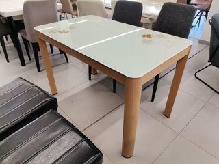 Reducere! masă de bucătărie glass-2216