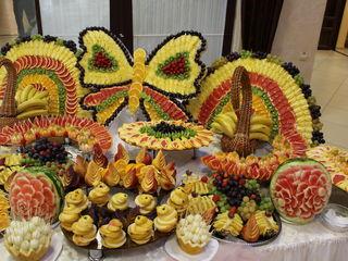 Fourchette din fructe pentru ceremonii