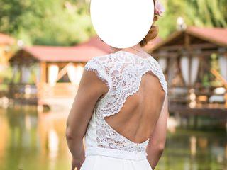 Vând rochie de mireasă purtată o singură dată
