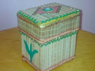 Cutie pentru cadouri sau bijuterii, lucrata manual, India