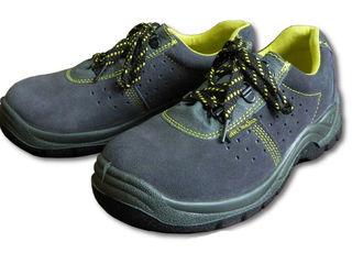 Туфли BPZS1 замшевые с металлическим подноском