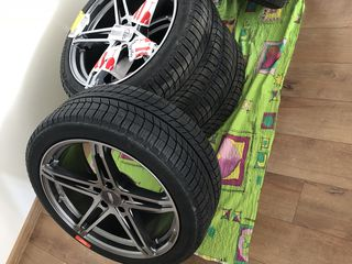 Anvelope Michelin X-ice3 (brand new) plus jante 19.
