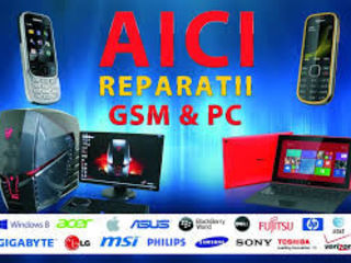 Reparatii telefoane,tablete,PC,notebookuri etc.