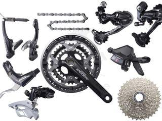 Piese și accesorii pentru biciclete