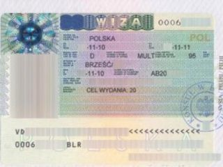 Viza  schengen poloneza in europa /польская виза - 6 luni /1 an (programari).fara avans.