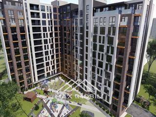 Apartament cu 2 odai + living, bloc nou, Lagmar, str. Cornești, 850 euro/m