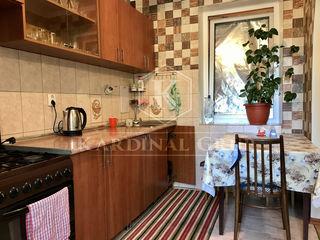 Vânzare apartament 3 camere, 50 mp, reparație, mobilat, Botanica, 27 900 euro!
