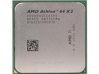 Процессор AMD Athlon 64 X2 6000,  3.1 ghz, socket AM2,    300 лей