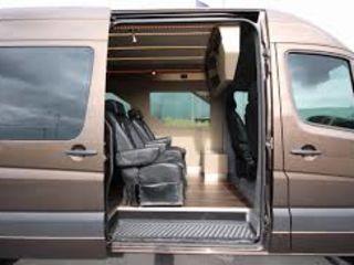 Moldova - Germania - Moldova. Transport zilnic!!! Conduc 2 soferi!!Microbus de 9 locuri!!