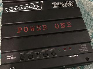 crunch power one 200w