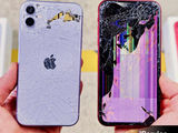 599 леев замена заднего стекла на любой iPhone