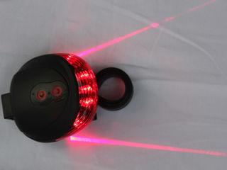Stop cu proiectie laser. set de lumini! computer pentru bicicleta impermiabil!