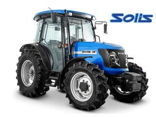 Tractor Solis (110 cai, 4x4) pentru lucru in campuri
