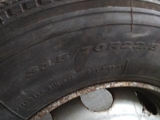 22.5/315/70- два ската вместе с дисками - состояние новых - для грузовых автомобилей  фото 1 -5, а т