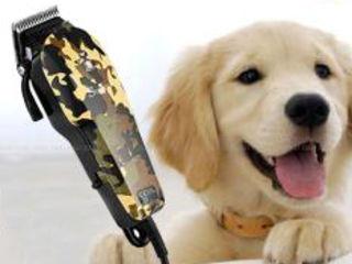 Экономь на стрижку! Машинка для стрижки животных (кошек, собак). Новая. 450 лей. Смотрите видео!