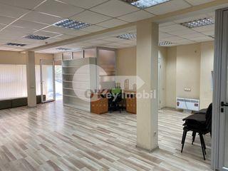 Buiucani, chirie oficiu, 100 mp, reparație+mobilat, 600 €