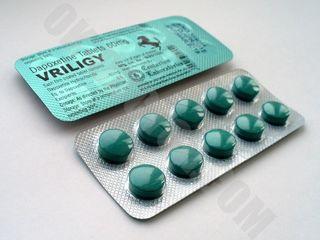Дапоксетин Vriligy 60мг - от преждевременного семяизвержения