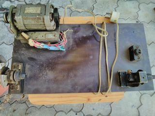 электрическое, перемоточное устройство, для перемотки на шпульку: лески, шнура, нитки и т.д.