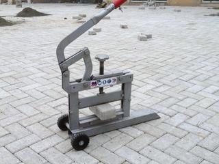 Arenda Гильотина для колки тротуарной плитки!!!Производство Италия!Толщина колки от 0 до 10 см
