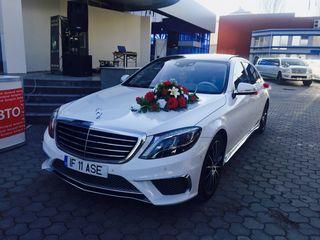 Chirie auto pentru Nunta!!! Mercedes E,  Mercedes S W221, w222