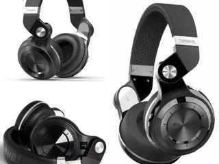 Bluetooth наушники Bluedio Monitor T2+V5 Black Super Bass. Звук просто супер! Громкий качественный г