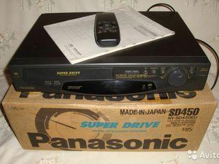 Видеомагнитофон Panasonik SD 450 eu Чистый японец, рарирет