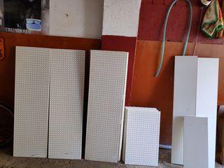 перфорированное панно мебель для магазинов