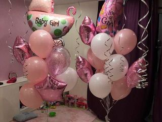 Baloane cu heliu externare din maternitate cifre zile de nastere