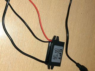 Конвертор12в5в3а для видео регистратора.