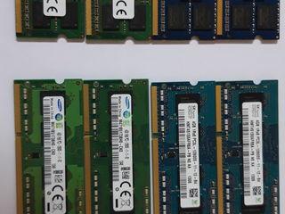 Оперативная память для ноутбуков, Memorie operativа DDR3. 8 GB - 450 lei, 4- 250
