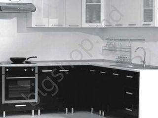 Bucatarie Ambianta Perla White/Black (2.1x2.1 m). Oferim garanție!!