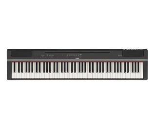 Yamaha P-125 - pian digital cu 88 clape, 24 de tonuri, polifonie de 192 de note, 20 de ritmuri