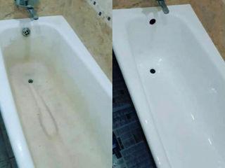 Реставрация ванн / restaurarea cazilor de baie