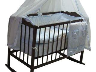 Деревянные кроватки от 1500лей. Бесплатная доставка по Кишиневу!!!